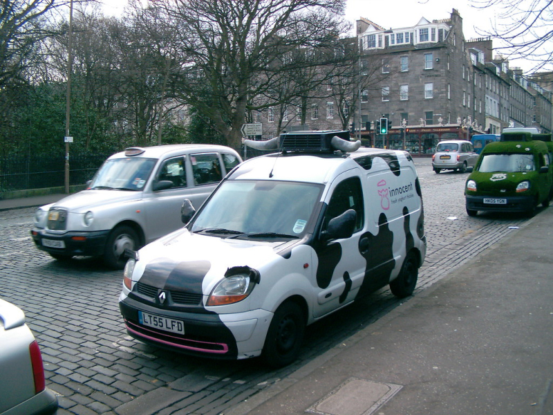 Innocent cow vans