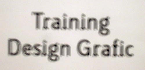 Trainingdesigngrafic