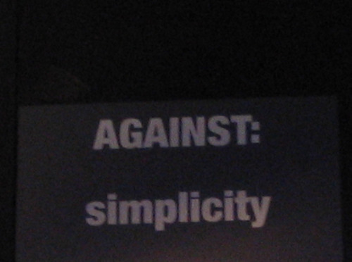 Againstsimple