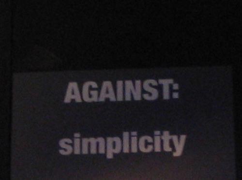 Againstsimple