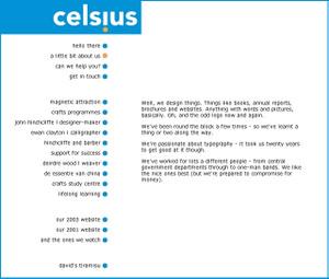 Celsiuswebsite